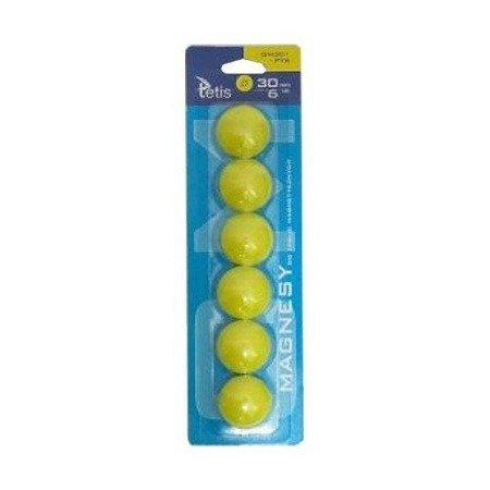 Magnesy małe 6 sztuk (20 mm)
