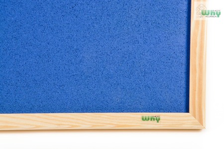 Tablica korkowa barwiona w ramie drewnianej 70x80 cm