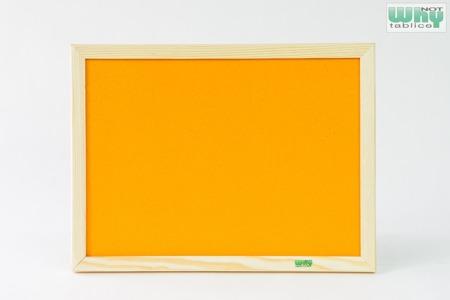 Tablica korkowa barwiona w ramie drewnianej 80x120 cm