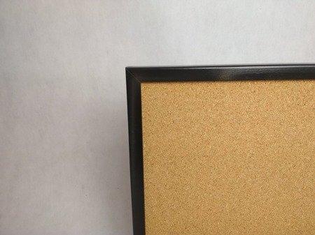 Tablica korkowa w KOLOROWEJ ramie drewnianej 40x60 cm NOWOŚĆ!!!!!