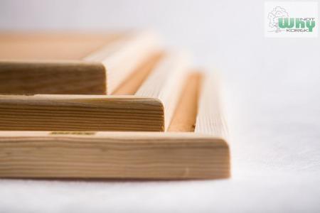 Tablica korkowa w ramie drewnianej 100x200 cm