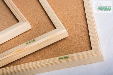 Tablica korkowa w ramie drewnianej 80x100 cm