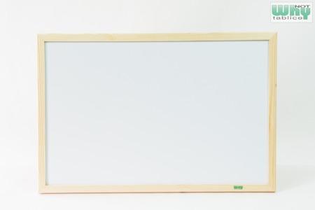 Tablica magnetyczno-suchościeralna w ramie drewnianej 80x100 cm
